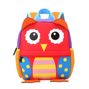 High quality Cute neoprene backpack popular animal customized backbags school bags school student neoprene backpack bag