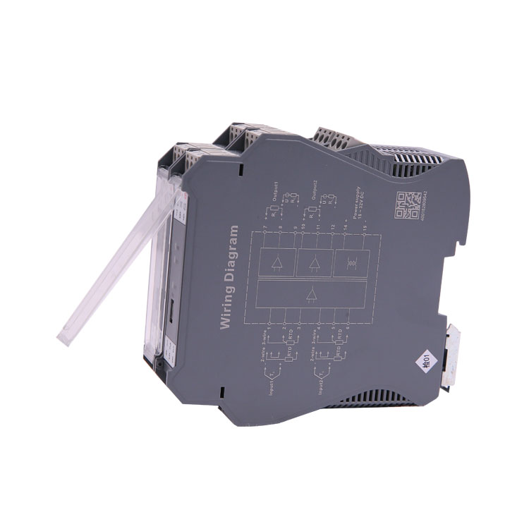 0-20ma 0-10v 1 input 4 output rtd voltage signal converter isolator