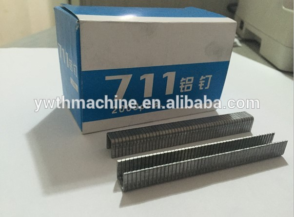 711 Aluminum <strong>Nails</strong> For Supermarket Bag Sealing/U type tying pin