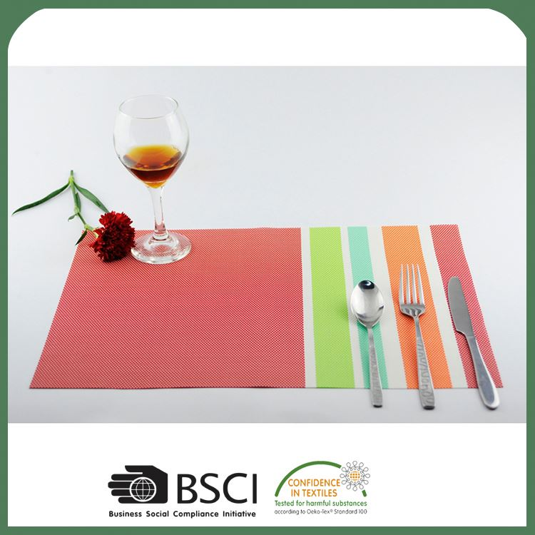 Newest selling custom design foam pvc placemat from manufacturer