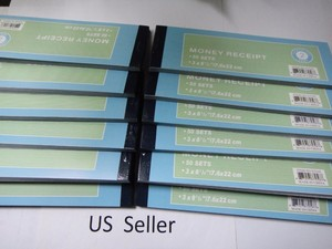 Carbonless Receipt Book Invoice Cash/Rent Form 2 Parts 50 Set Great Price