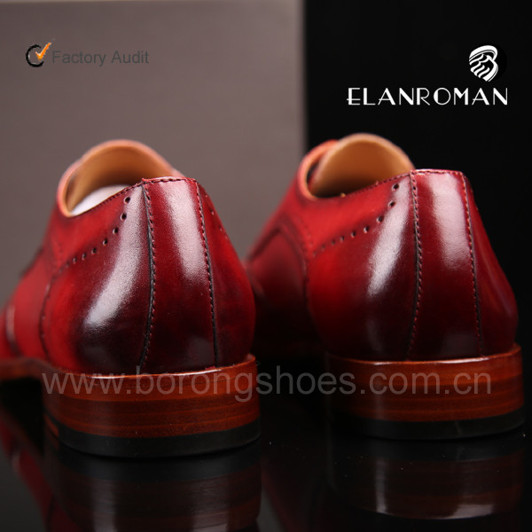 World best Italian pure leather man shoes brogues dress shoes