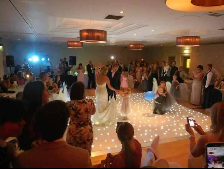 New style Hot Sale Wedding Event 2ft by 2ft Starlite LED Dance Floor