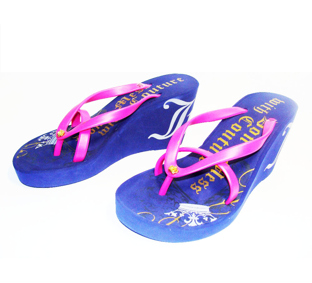 Popular Ladies Summer Wedge Heels Flip flops Sandals