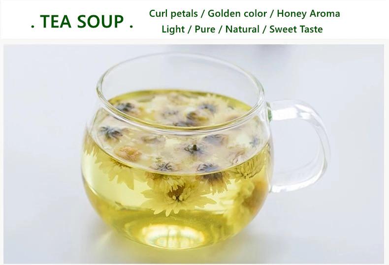 Chinese Blooming Tea Honey Chrysanthemum Tea with OEM Private Labeling Package - 4uTea   4uTea.com