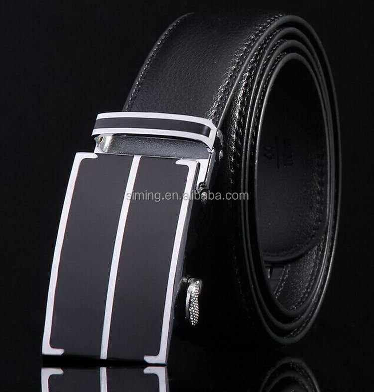 Fashion best sell eyelets leather fashion man belt