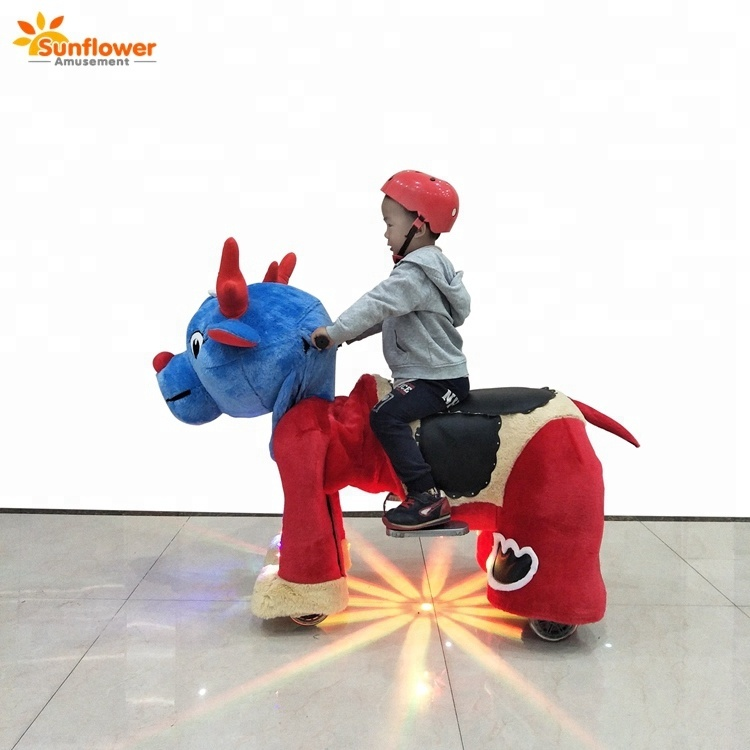 Popular Stuffed <strong>Animals</strong> Battery Ride on Car Kids Car Games
