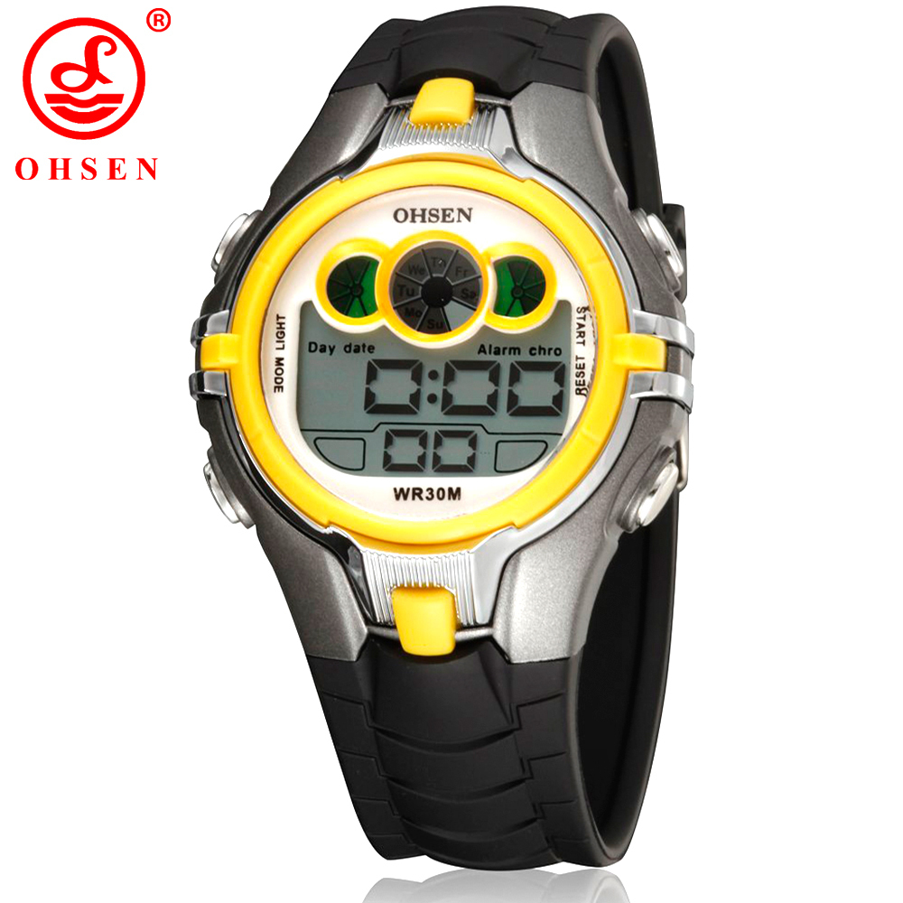 Back To Search Resultswatches Ohsen Boys Kids Children Digital Sport Watch Alarm Date Chronograph Led Back Light Waterproof Wristwatch Student Clock As21 100% High Quality Materials
