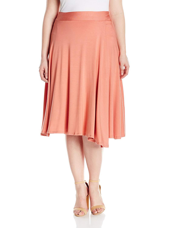 fad67e3817 Get Quotations · Rachel Pally Women s Plus Size Mid-Length Wrap Skirt
