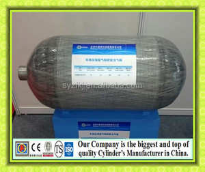 KJ factory customize large 20L 25L 140L bus use hydrogen gas cylinder tank 300bar