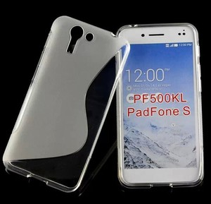 Mix Colors S-line Tpu Case For Asus PadFone S PF500KL cover for honor 6X