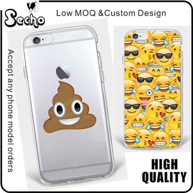 Funny Face Emoji Case for Samsung Galaxy A3 A310 A5 A510 S4 S5 2017 Mini S6 S7 S7 Edge J5 J510 J7 J710 Prime G530 Case