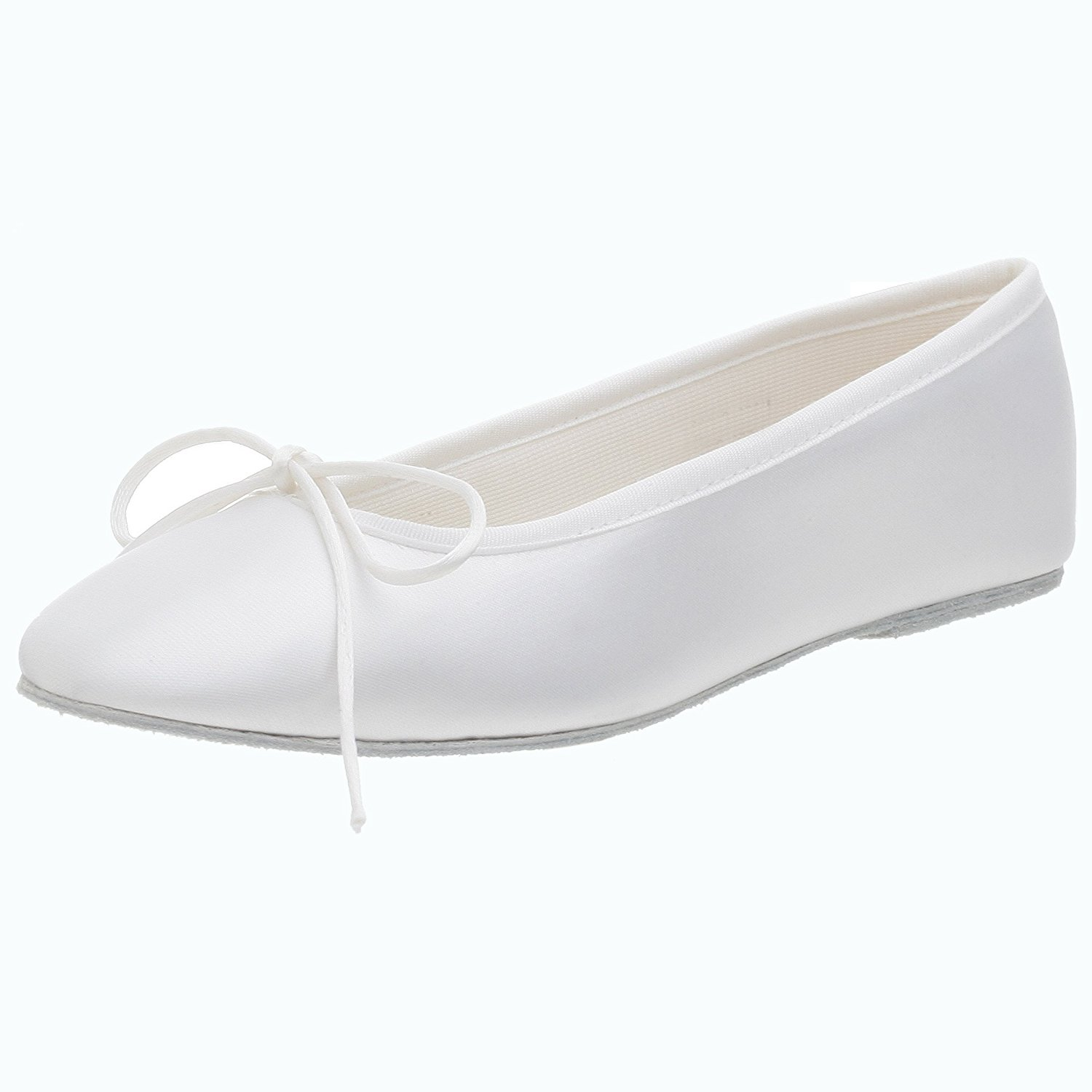 Touch Ups Women's Ballet Dyeable Flat