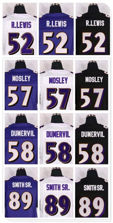the best attitude de26c e88e8 Football 52 Ray Lewis Jerseys, Cheap ravensere 57C.J. Mosley 5 Joe Flacco  Jersey Black Purple White 3XL(China (Mainland))