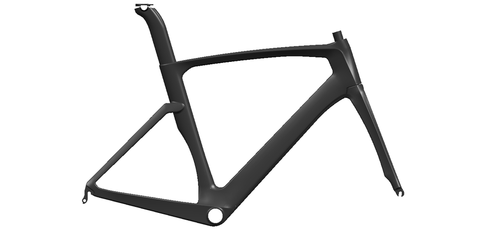 High Qulity Carbon Road Bike Frame, Road Bike Frame, Road Carbon Bike Frame 700C
