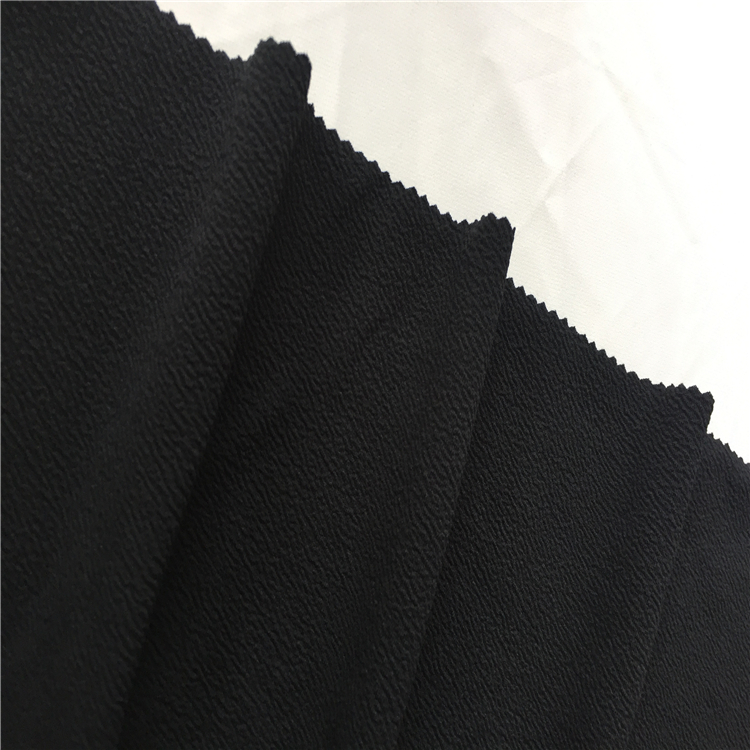 Shaoxing high quality Polyester Spandex liverpool jersey Plain fabric
