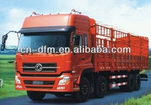 Dongfeng cargo truck/dry cargo box truck van with cummins engine
