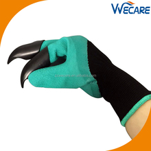 Amazon Hot Selling Garden Genie Digging Gloves with Claws