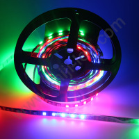 dmx addressable ws2812B UV 12VDC individual IC control digital pixel rgb led strip