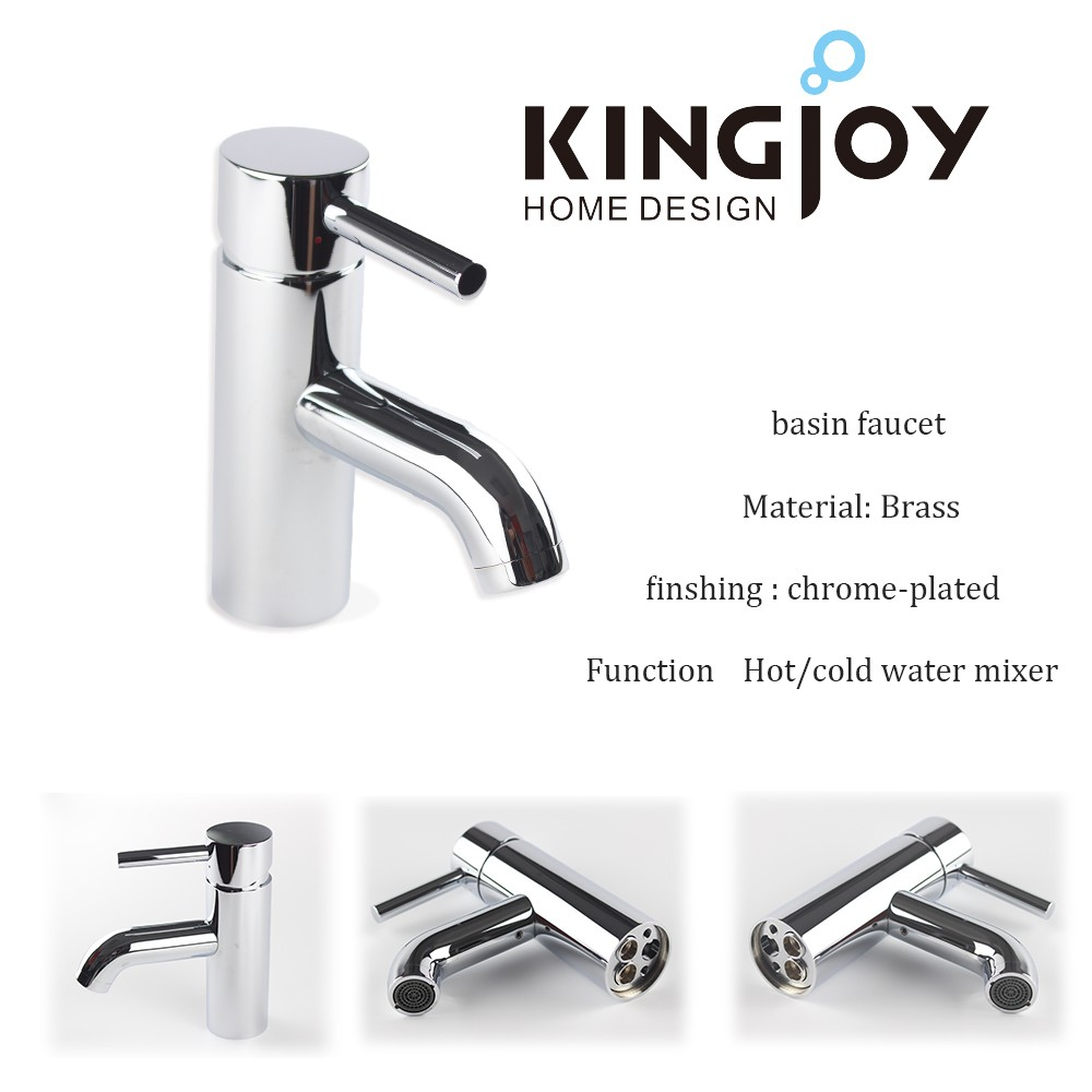 Dual Handles Nickel Brushed Antique Faucets Chrome Plated Sink Mixer Taps