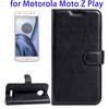 Factory Price Flip Leather Case for Motorola Moto Z Play Online Shopping, For Motorola Moto Z Play Cover Case