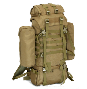 80L military tactical molle assembly backpack climbing hunting travel backpack with molle systems big capacity detachable