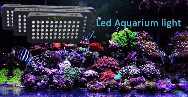 225w Led Aqaurium Light Dimmable Marine Aquarium Led Lighting ...