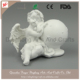 Polyresin Decorative Cute Angel Artificial Garden Angel