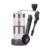 Portable Coffee Grinder with No-Slip Silicone Manual Coffee Grinder
