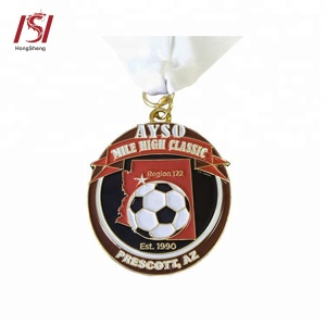 custom medallion sports cup soccer trophy gift make medal
