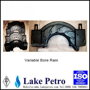 API 16A BOP Variable bore Ram/ BOP Shear Ram/ BOP Pipe Ram for oil and gas equipment