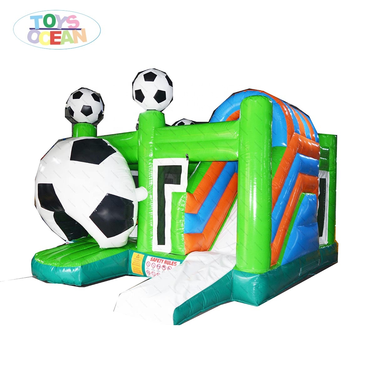 commercial party rental inflatable soccer football bounce house jumping castle for kids
