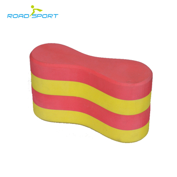 Hot sale swimming training eva foam pull buoy OEM
