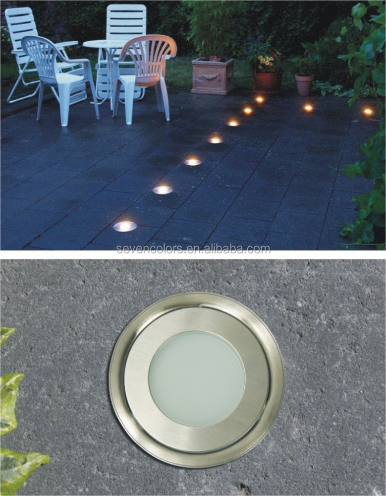 0 5w recessed concrete lights led outdoor ground uplights stainless