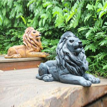 Large Garden Statues Resin Lion Animal Statue