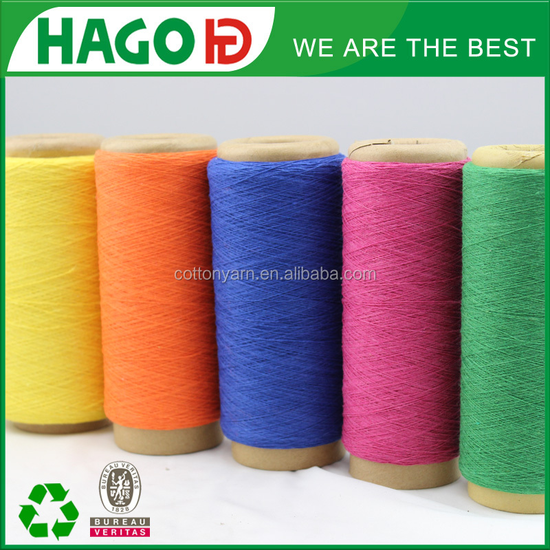 many yarn count 100% cotton yarn for fouta towel