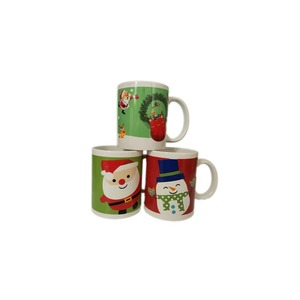 bulk ceramic christmas mug set for kids