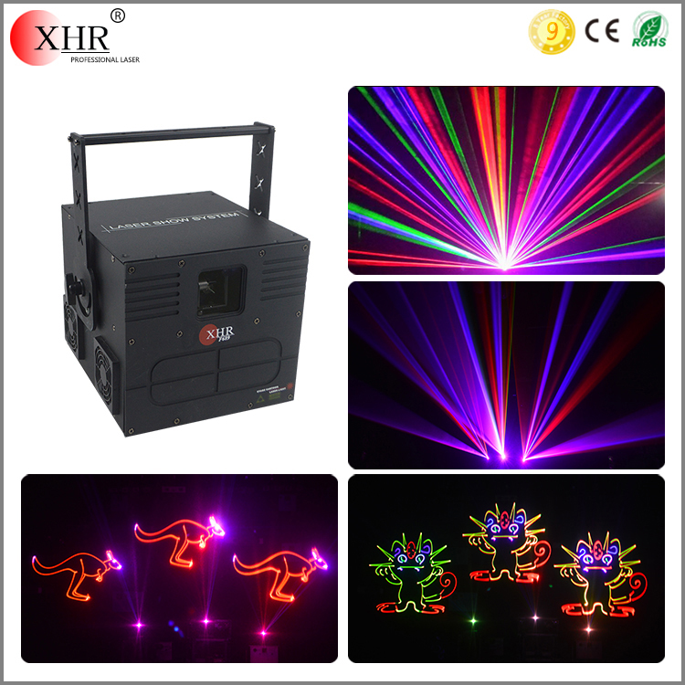 Mini Home Party Laser Light,1000mw Stage Laser Lighting,RGB Laser 1w