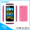VITEK 3G 4 Inch CE Certificate Smartphone Android 6, 480*800 Small Screen Cell Phones, Dual Sim Dual Standby Mobile Phone Touch