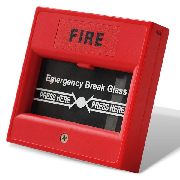 Easy operated Break glass manual call point for fire alarm