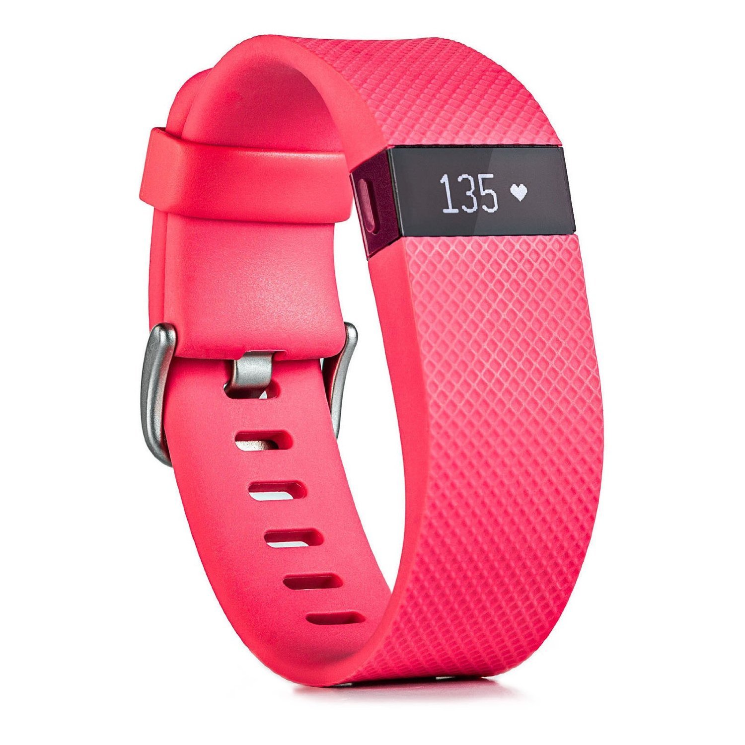 PinkFitbit Charge HR Activity, Heart Rate + Sleep Wristband