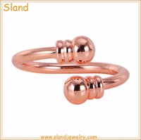 2017 Fashion Jewelry Simple Size adjustable pure copper rings for women - Magnetic copper ring wholesale from China