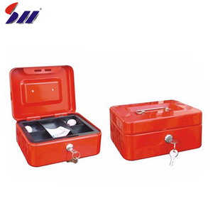 Factory direct supply cheapest portable metal key lock box cash keeper