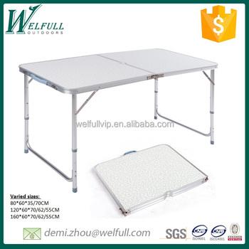 Picknick Tafel Aluminium.Koffer Stijl Opvouwbare Tafel Aluminium Outdoor Picknick Tafel Met