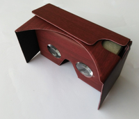 Cardboard 3d Vr Virtual Reality DIY 3D Glasses for Smartphone with NFC and Headband