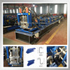 Steel Profile C Section Purlin Cold Roll Forming Machine roll former c z purlin bending machine