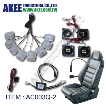 4 Fan And 8 Vibration Motors Car Seat Electrical Massage And Cooling ...