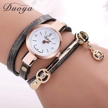 77 Fashion New Arrive Summer Style PU Leather Bracelet Watches Wristwatch Women Dress Watches Relogios Femininos Watch  XR1297