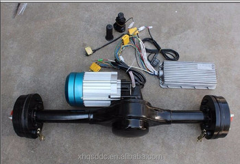 Dc Brushless Motor And Controller Electric Rickshaw Spare