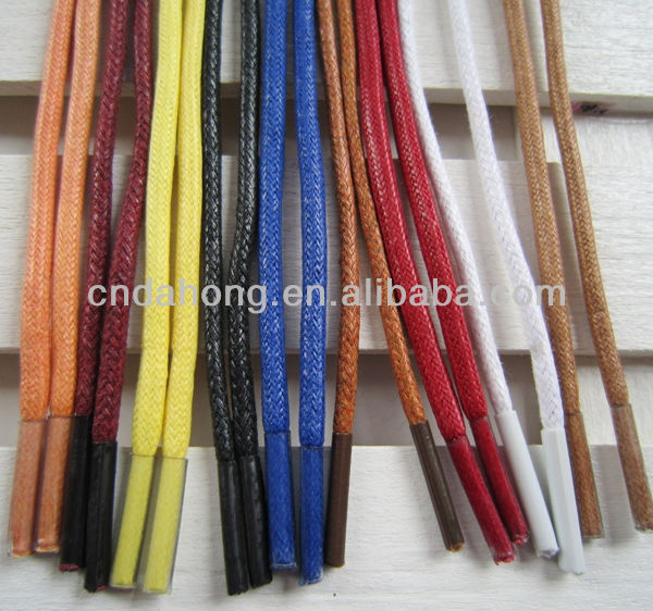 Boots Waxed Cotton Shoelaces